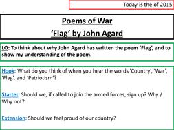 flag john agard written
