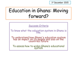 Education in Ghana