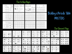 Building a periodic table by jamesgonyo teaching resources tes building a periodic table masterspdf urtaz Images