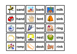 CVC AND CVCC WORDS - GAMES AND ACTIVITIES - LETTERS SOUNDS PHONICS  SPELLINGS LITERACY ENGLISH