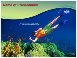 Underwater powerpoint template by templatesvision teaching underwater powerpoint template toneelgroepblik Choice Image