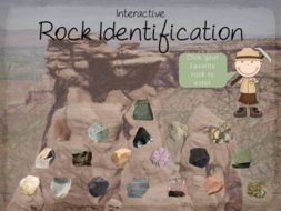 interactive rock identification by jamesgonyo teaching resources tes