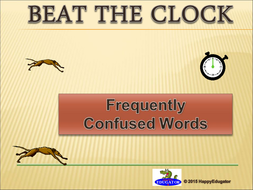 Confusing Words - Beat the Clock Game