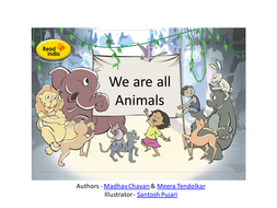 Wordless Stories Writing Pack - We are all animals
