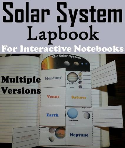 solar system foldable notebook - photo #44