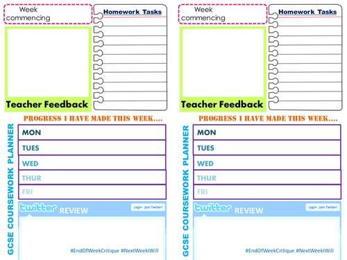 Art Project Assessment/Planning Sheets