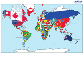 The world map by yeahoronitslastfingers teaching resources tes activity gumiabroncs Gallery