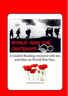 Reading Comprehensions - World War One