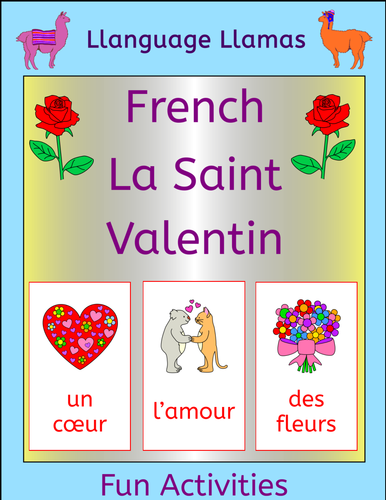 french valentine 39 s day la saint valentin by llanguagellamas us teacher lessons tes. Black Bedroom Furniture Sets. Home Design Ideas