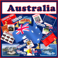 AUSTRALIA -CULTURE AND DIVERSITY TEACHING RESOURCES -DISPLAY GEOGRAPHY HISTORY
