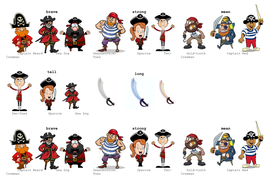 Pirate writing - er and est suffix