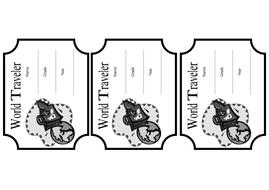 suitcase stickers to colourpdf