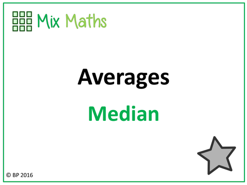 how to work out the median excel