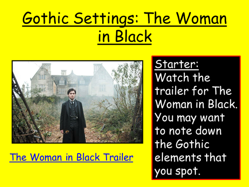 the woman in black essay help