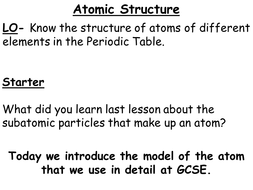 Atoms ions and the periodic table for the new gcse by atoms ions and the periodic table for the new gcse urtaz Choice Image