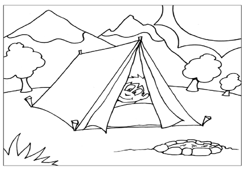 CAMPING ROLE PLAY TEACHING RESOURCES KEY STAGE 1-2 SCIENCE
