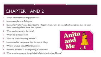 Grade 9-1 gcse english text guide anita and me (cgp gcse english.