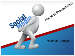 social media powerpoint template by templatesvision teaching