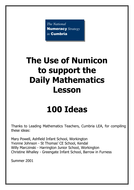 100 things to do with numicon