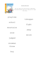 Oxford Reading Tree Comprehension Sheets by rach_b ...