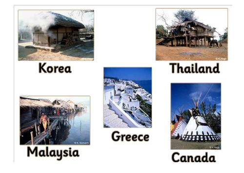 Homes and houses from around the world.