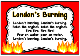 Image result for london's burning banner