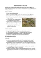 Hurricane Mitch - Case Study