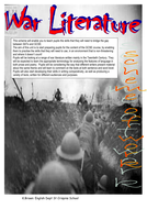War Literature KS3 Complete SOW and resources