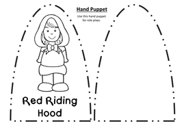 LITTLE RED RIDING HOOD STORY TEACHING RESOURCES EYFS KS1