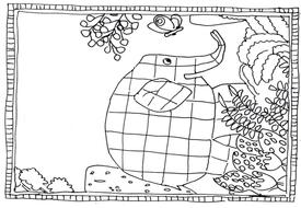 ELMER THE ELEPHANT STORY TEACHING RESOURCES EYFS KS1