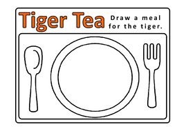 TIGER WHO CAME TO TEA STORY TEACHING RESOURCES EYFS KS1