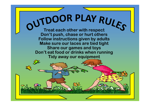 OUTDOOR PLAY LEARNING TEACHING RESOURCES EARLY YEARS KEY ...