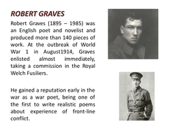 War Poetry Resources As Literature