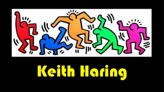 Keith haring powerpoint by mimi1980 teaching resources tes for Keith haring figure templates