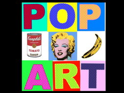 Pop art powerpoint by mimi1980 teaching resources tes pop art powerpoint toneelgroepblik Images