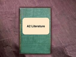 Introduction to A2 Literature (WJEC Eduqas)
