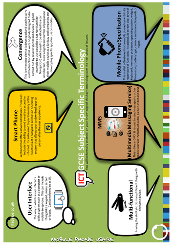 Edexcel GCSE ICT - Mobile Phone Usage 3