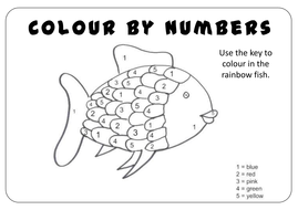 Rainbow Fish Story Teaching Resources Eyfs Ks1 2 English