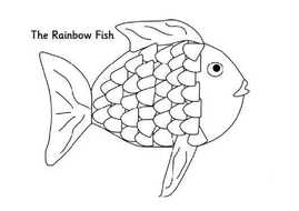 RAINBOW FISH STORY TEACHING RESOURCES EYFS KS1-2 ENGLISH
