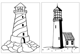 Lighthouse keepers lunch coloring book pages ~ LIGHTHOUSE KEEPERS RESCUE STORY TEACHING RESOURCES EYFS ...