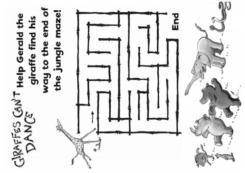 GIRAFFES CAN'T DANCE STORY TEACHING RESOURCES EYFS KS 1-2