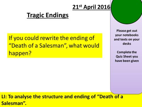 essay topics for death of a salesman