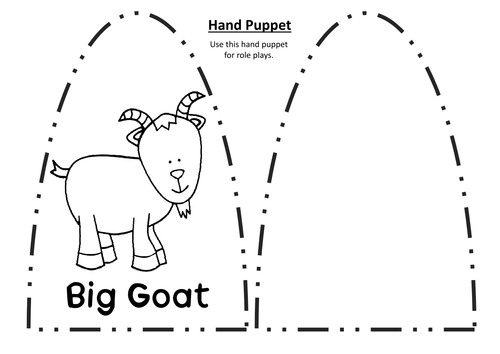 THREE BILLY GOATS GRUFF STORY TEACHING RESOURCES EYFS KS 1