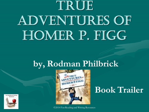The mostly true adventures of homer p figg powerpoint by for Homer p figg