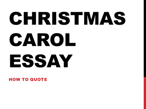 AQA GCSE English Literature A Christmas Carol ***COMPLETE