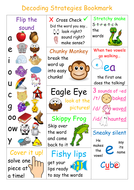 Decoding strategies for reading poster
