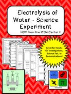Chemistry: Electrolysis Lab