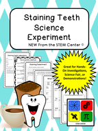 Chemistry: Staining Teeth Experiment