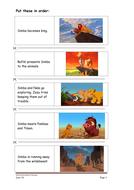 The Lion King Lower Level 1 Writinghandwriting By Heidih1