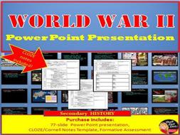 World War Ii Lecture Power Point Presentation By Chalkdustdiva